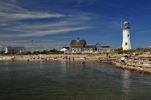 Wall Art - Photograph - Scituate Light by Mike Martin