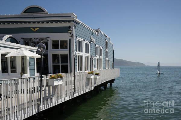 Photograph - Scoma's Restaurant On Bridgeway Sausalito California Dsc6035 by Wingsdomain Art and Photography