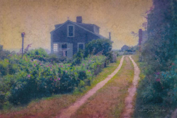 Painting - Sconset Cottage by Bill McEntee