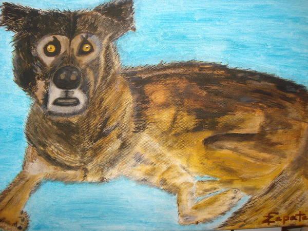 Painting - Scoobie by Felix Zapata