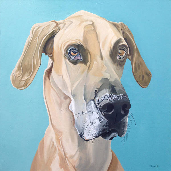 Painterly Painting - Scooby by Nathan Rhoads
