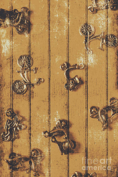 Wood Planks Photograph - Scooter Shed  by Jorgo Photography - Wall Art Gallery