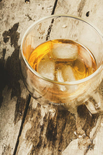 Photograph - Scotch Whisky On Frosted Oak by Jorgo Photography - Wall Art Gallery