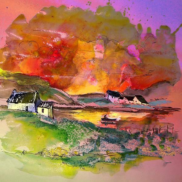 Wall Art - Painting - Scotland 07 by Miki De Goodaboom