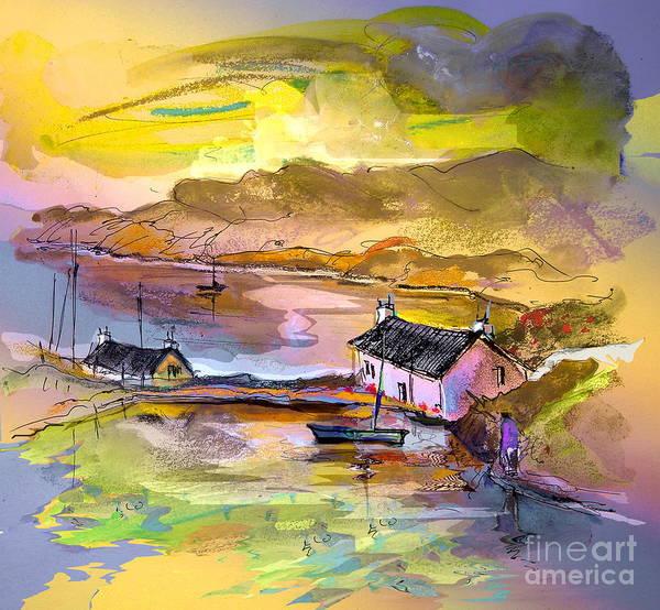 Wall Art - Painting - Scotland 11 by Miki De Goodaboom