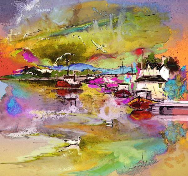 Wall Art - Painting - Scotland 13 by Miki De Goodaboom