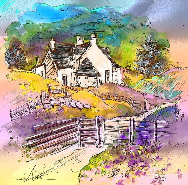 Wall Art - Painting - Scotland 16 by Miki De Goodaboom