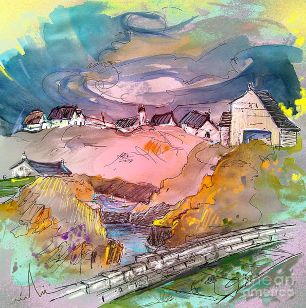 Wall Art - Painting - Scotland 17 by Miki De Goodaboom