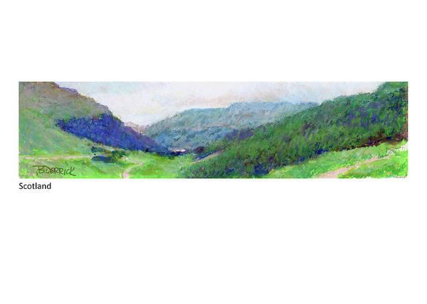 Pastel - Scotland by Betsy Derrick