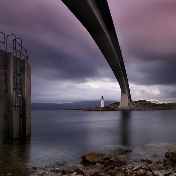 Road Photograph - Scotland Skye Bridge by Nina Papiorek