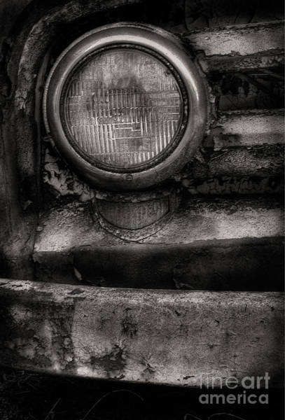 Photograph - Scotopic Vision 7 - Headlight by Pete Hellmann
