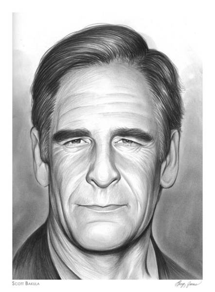 Actor Drawing - Scott Bakula by Greg Joens