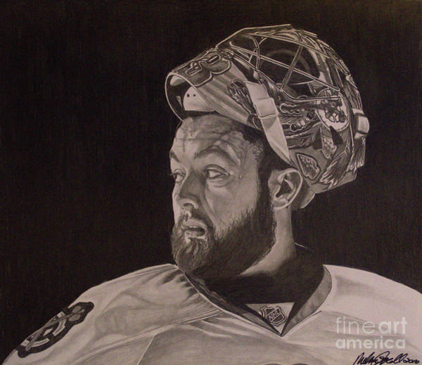 Drawing - Scott Darling Portrait by Melissa Jacobsen