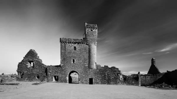 Photograph - Scottish Abbey by Grant Glendinning