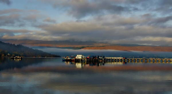Photograph - Scottish Highlands Panorama by Anthony Dezenzio