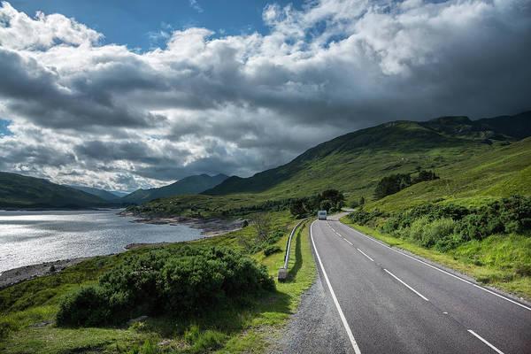 Wall Art - Photograph - Scottish Highway by Christian Heeb