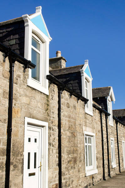 Skylight Photograph - Scottish Homes by Tom Gowanlock