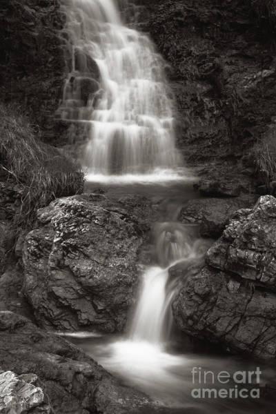 Wall Art - Photograph - Scottish Waterfalls by Angel Ciesniarska