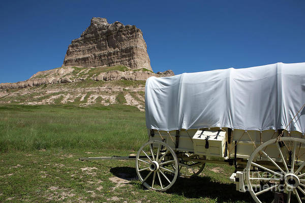 Scotts Bluff National Monument Nebraska Art Print