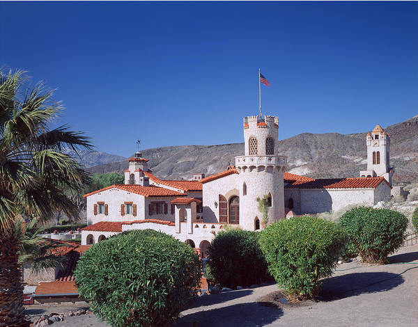 Photograph - 2a6870-scotty's Castle by Ed  Cooper Photography