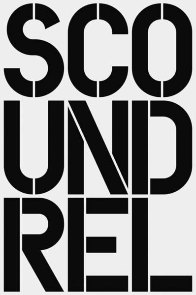 Wall Art - Painting - Scoundrel by Three Dots