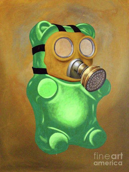 Gummy Bear Painting - Scout by Derek Smith