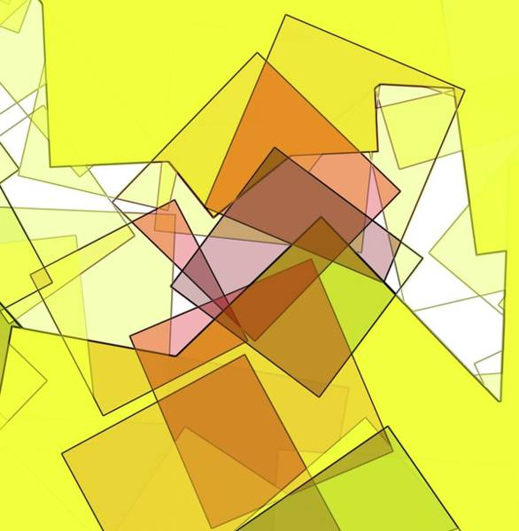 Digital Art - Scrambled by Paulette B Wright