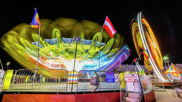 Neon Pink Photograph - Scrambled by Stephen Stookey