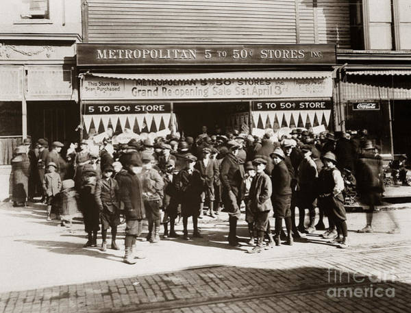 Scranton Pa Metropolitan 5 To 50 Cent Store Early 1900s Art Print