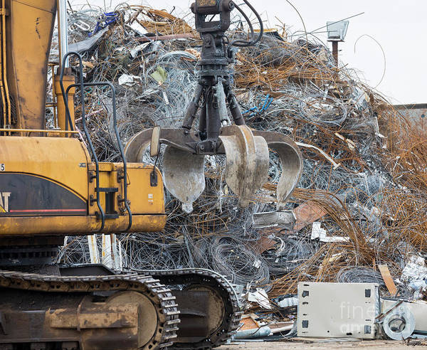 Photograph - Scrap Metal by Jim West