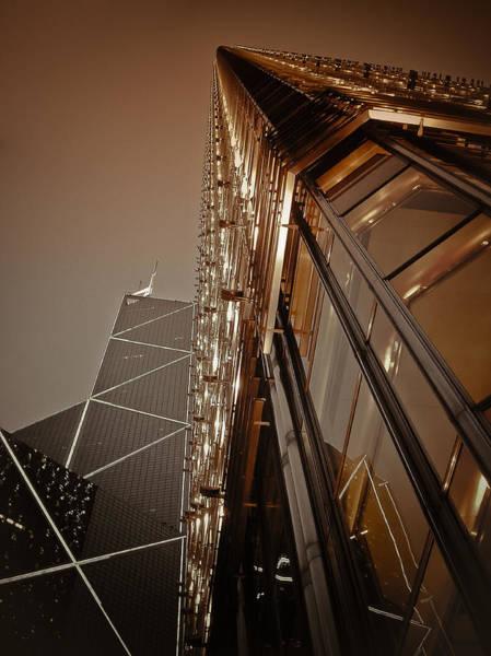 Hongkong Photograph - Scraping The Sky by Loriental Photography