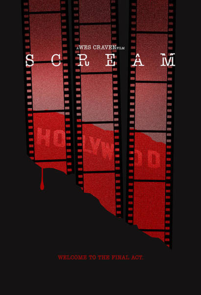 Horror Movie Digital Art - Scream 3 Alternative Poster by Christopher Ables