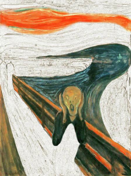 Painting - Scream A Bunch Digital by Karla Beatty