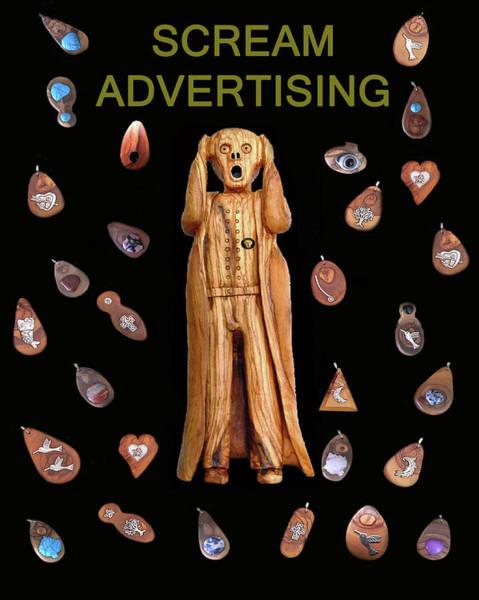 Mixed Media - Scream Advertising by Eric Kempson
