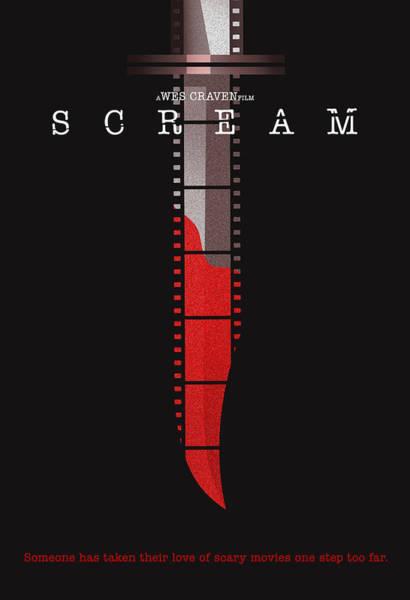 Scream Wall Art - Digital Art - Scream Alternative Poster by Christopher Ables