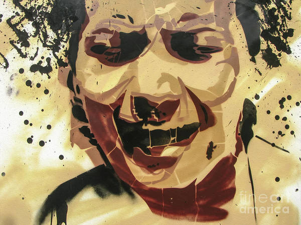 Photograph - Scream Graffiti by Daliana Pacuraru