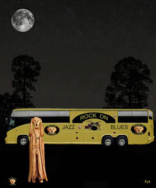 Mixed Media - Scream Jazz Tour by Eric Kempson