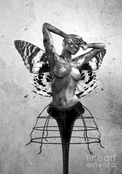 Emotive Digital Art - Scream Of A Butterfly II by Jacky Gerritsen