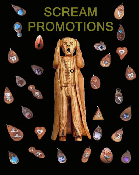 Mixed Media - Scream Promotions by Eric Kempson