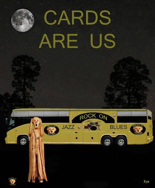 Mixed Media - Scream World Tour by Eric Kempson