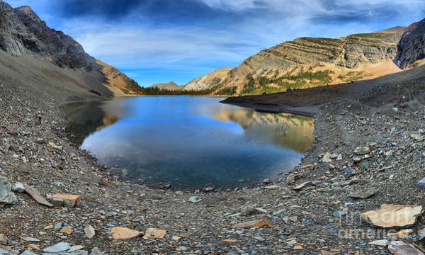 Photograph - Scree Around Crypt Lake by Adam Jewell