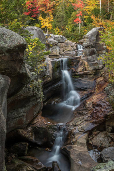 Photograph - Screw Auger Falls In Autumn by Colin Chase