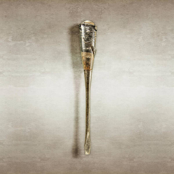 Wall Art - Photograph - Screwdriver With Tape Handle by YoPedro