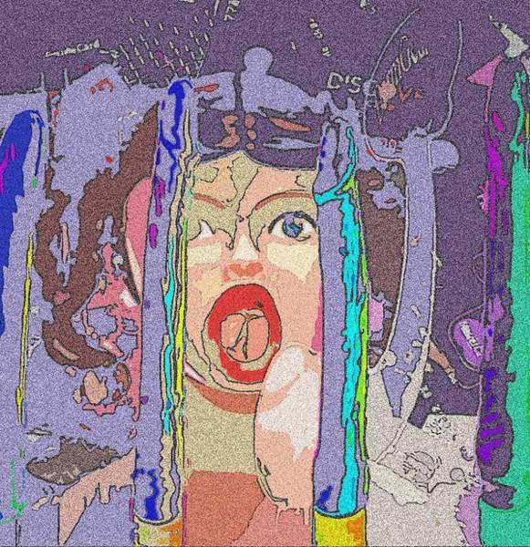 Drunk Mixed Media - Screwed By Credit by Jennifer Ott