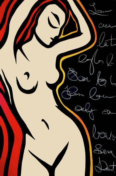 Wall Art - Painting - Scribbles by Tom Fedro - Fidostudio