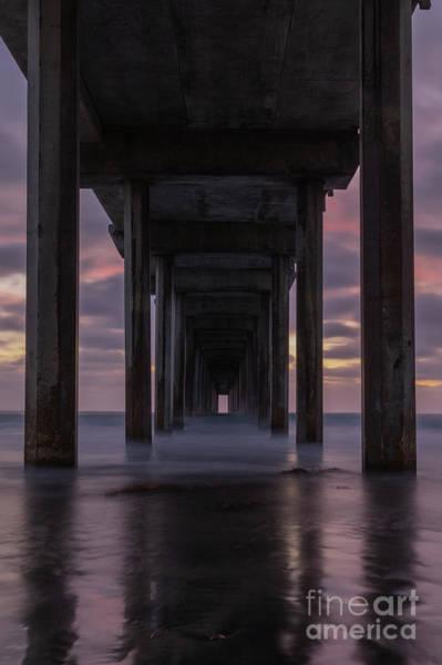 Scripps Pier Photograph - Scripp's Doorway by Jeremy Dufault