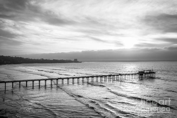 Scripps Pier Photograph - Scripps Institution Of Oceanography Pier by University Icons