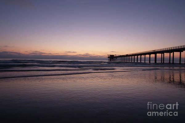 Scripps Pier Photograph - Scripps Pier At Sunset by Ruth Jolly