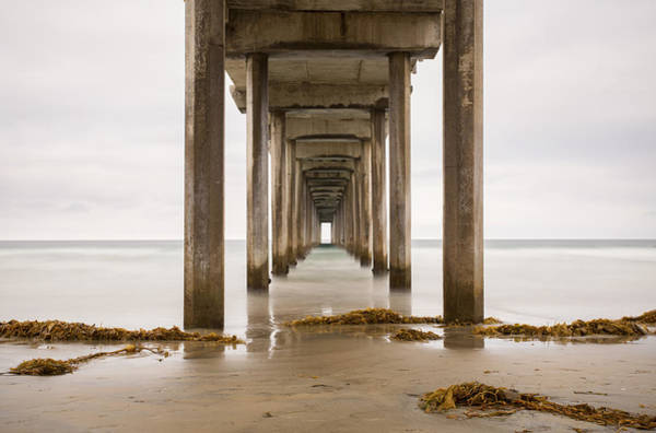 Scripps Pier Photograph - Scripps Pier by William Kennedy