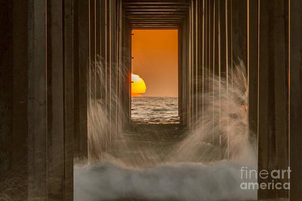 Scripps Pier Photograph - Scrippshenge 2 by Daniel Knighton